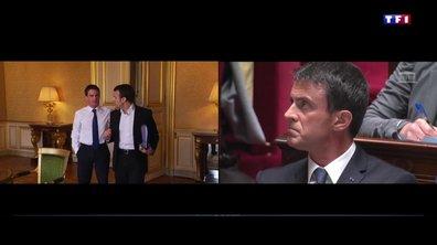 Les relations complexes entre Manuel Valls et Emmanuel Macron
