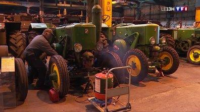 Vierzon : rencontre avec les passionnés de vieux tracteurs