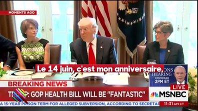 Joyeux anniversaire, Donald Trump ! Le Président orange a 71 ans aujourd'hui