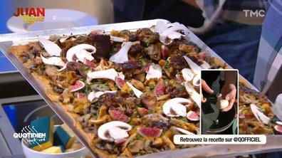 Juan régale : bien préparer les champignons