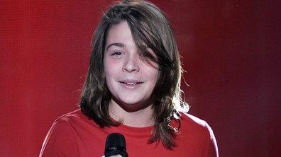 """The Voice Kids 2020 - Julien chante """"Vivre ou survivre"""" de Daniel Balavoine"""
