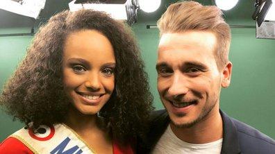 Animateur d'un jour, Julien a rencontré Miss France