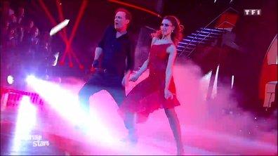 Un paso doble pour Julien Lepers et Silvia Notargiacomo sur « Bad » (Michael Jackson)