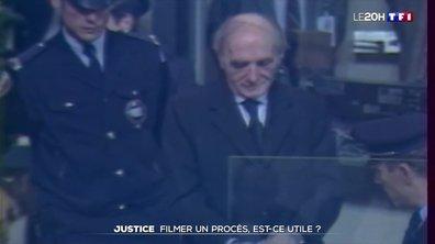 Justice : des procès bientôt filmés en France ?
