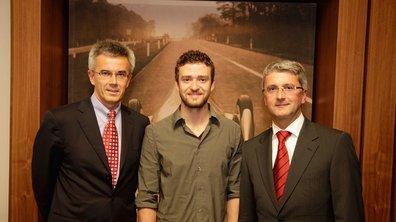 Audi A1 : Justin Timberlake engagé pour sa promotion