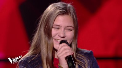 The Voice Kids : Justine chante « Dis-moi » des BB Brunes (Team Jenifer)