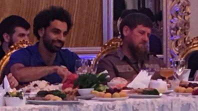 Egypte : Ramzan Kadyrov honore Mohamed Salah