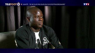 [EXCLU Téléfoot 10/11] - Kanté se voit à Chelsea sur le long terme