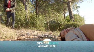 Lundi, dans l'épisode 111, Karim se retrouve à terre