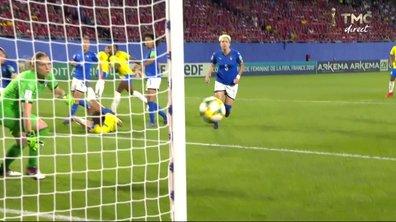 Italie - Brésil (0 - 0) : Voir l'occasion de Kathellen en vidéo