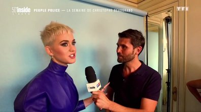 Quand Katy Perry parle gourmandise avec Christophe Beaugrand