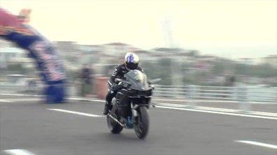 La Kawasaki H2R et Kenan Sofuoglu à 400 km/h