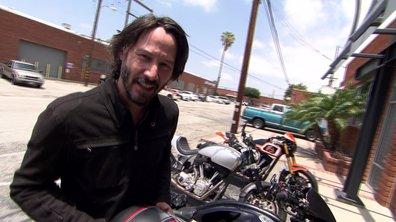 Keanu Reeves et ses motos Arch dans Automoto ce 3 juillet 2016