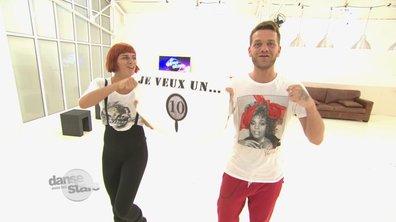 """#DALS répétitions : Fauve et Keen'V : """"Je veux un 10 !"""""""