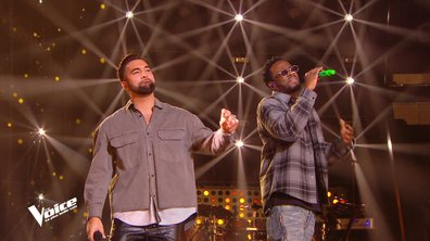 "The Voice 2021 - Kendji Girac et Dadju chantent ""Dans mes bras"""