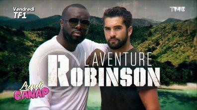 "Lundi Canap' : Kendji Girac et Maître Gims dans ""L'aventure Robinson"""