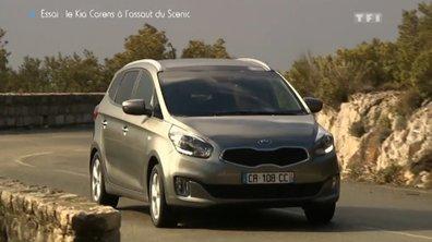 Essai Vidéo : le nouveau Kia Carens 2013