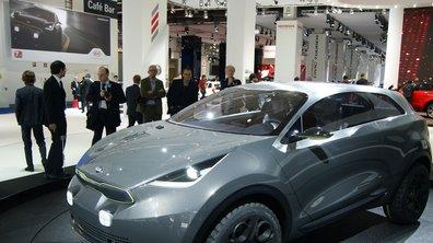 Salon de Francfort 2013 : Kia Niro Concept, prémices d'un futur SUV citadin
