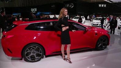 Le concept-car Kia Sportspace au Salon de Genève 2015