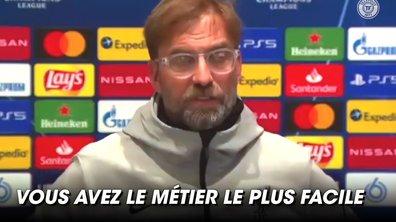 VIDEO - Klopp furieux après une question sur Van Dijk