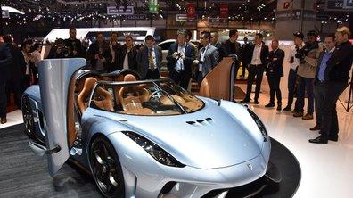 """Salon de Genève 2015 : Koenigsegg Regera, la """"mégacar"""" hybride aux 1.500 ch"""