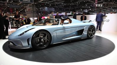 Koenigsegg Regera, le superlatif automobile au Salon de Genève 2015