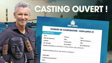 CASTING - Inscrivez-vous à la prochaine saison de Koh-Lanta !