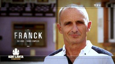 """Franck : """"Avec un caillou, je te fais un bifteck !"""""""