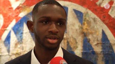 Les premiers mots de Kouassi au Bayern Munich