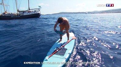Kraken : un voilier au service d'une mer propre