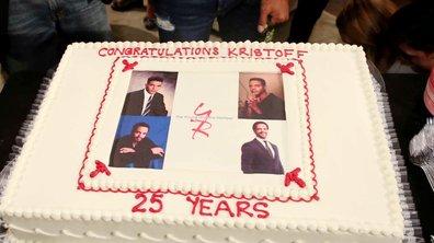 Kristoff St. John fête ses 25 ans au générique des Feux de l'amour !