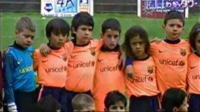 Insolite : nouvel exploit du Messi japonais du Barça (vidéo)
