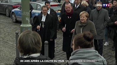 L'Allemagne commémore dans la sobriété les 30 ans de la chute du mur de Berlin