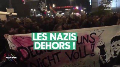 L'Allemagne manifeste contre la percée de l'extrême droite
