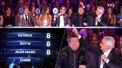 Michel Sardou fait le show sur le plateau de l'émission pour les demi-finales