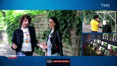 L'arbitrage vidéo dans la vraie vie (Eric et Quentin)
