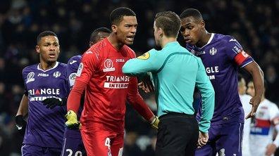 Toulouse - Lyon : le penalty de la controverse...