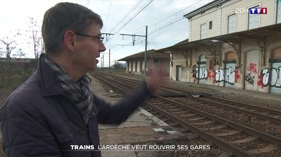 L'Ardèche, seul département français sans gare SNCF