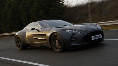 Aston Martin One-77 : un record historique à 355 km/h !