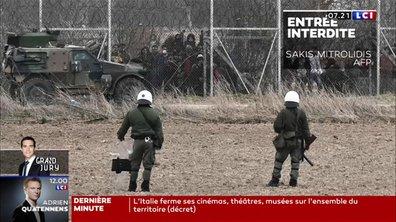 L'attente de l'ouverture des frontières grecques