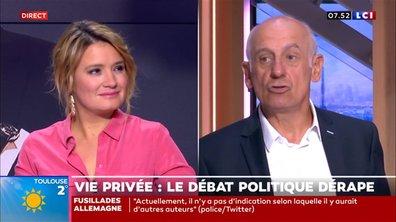 """L'édito Aphatie : """"Christophe Castaner, en introduisant des éléments de vie privée dans le débat public, commet une faute"""""""