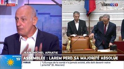 """L'édito Aphatie : """"Emmanuel Macron n'a plus la majorité politique à l'Assemblée nationale, c'est spectaculaire"""""""