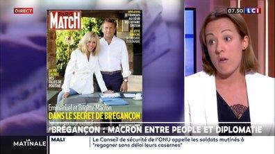 L'édito politique : Macron entre people et diplomatie à Brégançon