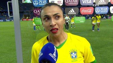 L'incroyable cri du coeur de Marta, la star brésilienne