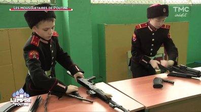 Kalachnikovs, broderie et patrie : bienvenue dans l'école des Cosaques