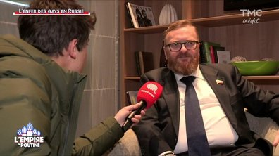 """Le mariage gay en Russie ? """"C'est comme marier un aspirateur et une chèvre"""""""