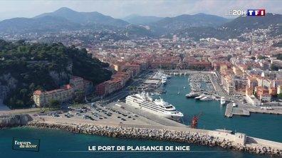 L'envers du décor : au plus près du port de plaisance de Nice