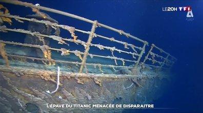 L'épave du Titanic menacée de disparaître