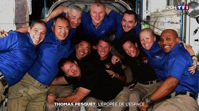 L'épopée de l'espace de Thomas Pesquet