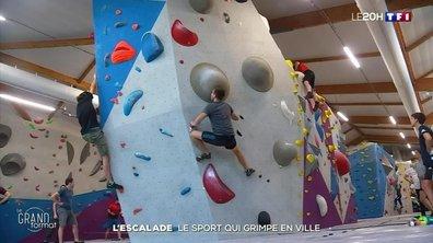 L'escalade, le sport qui grimpe en ville